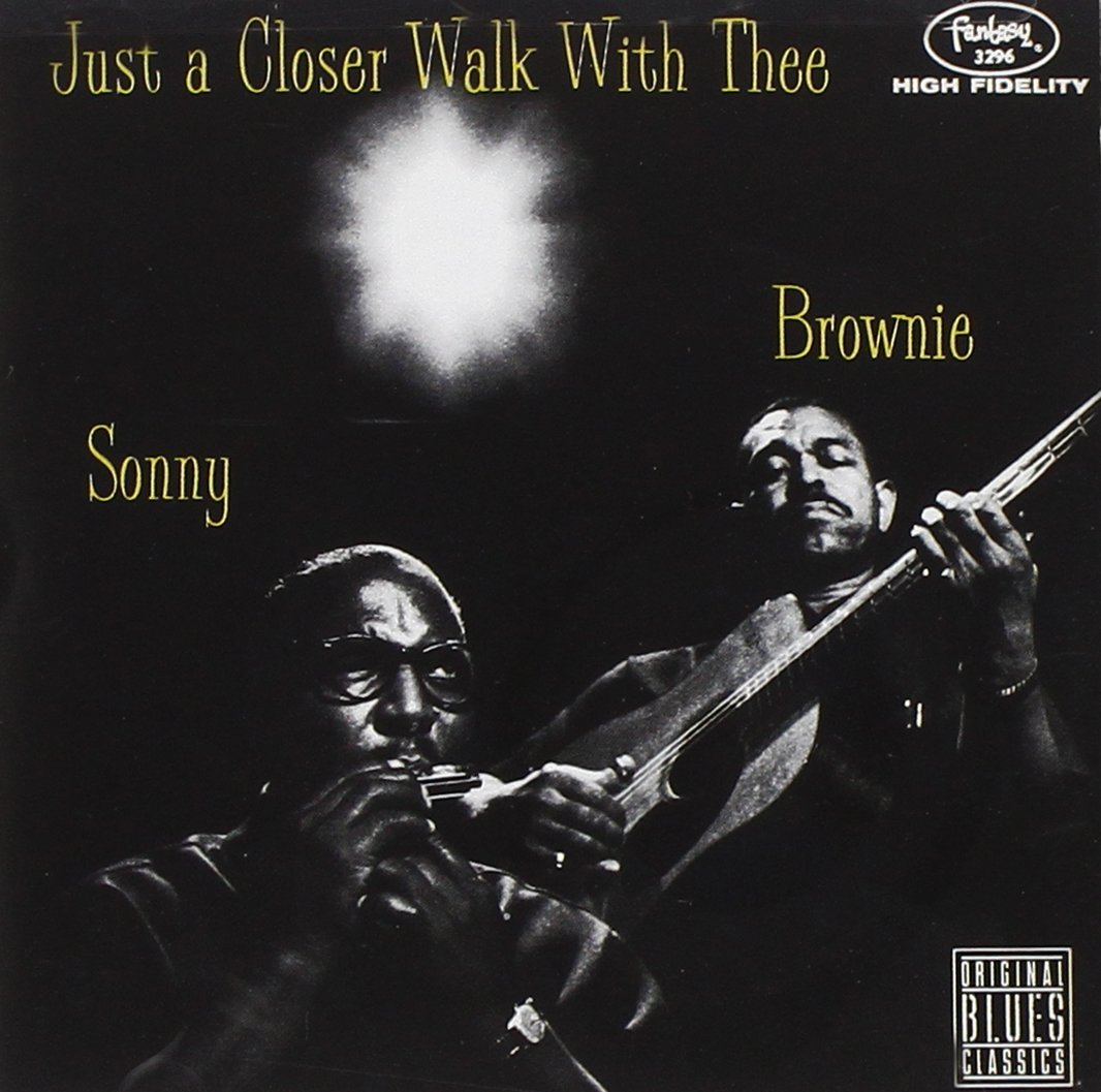 Sonny Terry. Just A Closer Walk With Thee pratchett terry i shall wear midnight