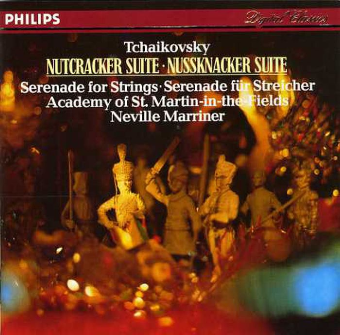Sir Neville Marriner. Tchaikovsky: Nutcracker Suite, Serenade For Strings w t matiegka fantaisie in c major op 4