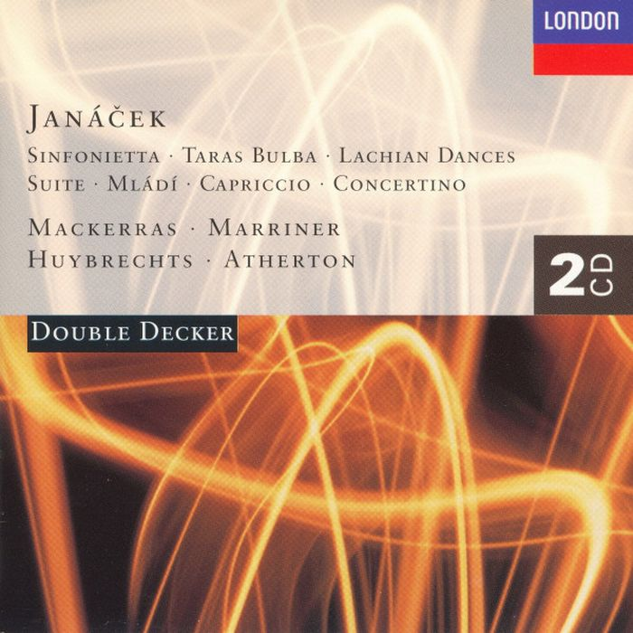Sir Charles Mackerras. Janacek: Sinfonietta; Taras Bulba; Mladi; Capriccio (2 CD) автомагнитола kenwood dmx110 2din 4x50вт