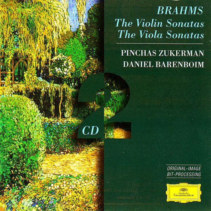 Pinchas Zukerman. Brahms: The Violin Sonatas; The Viola Sonatas (2 CD) a f servais andante