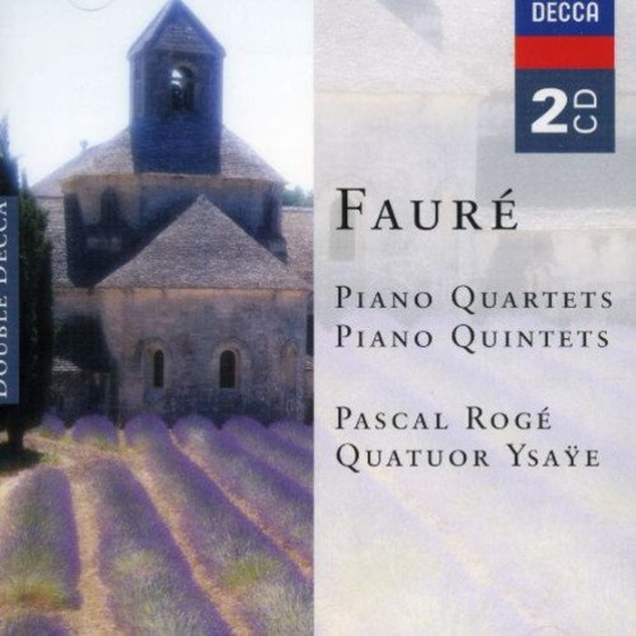 Pascal Roge. Faure: Piano Quartets & Piano Quintets (2 CD) m alejandre prada quintet for piano and winds op 51
