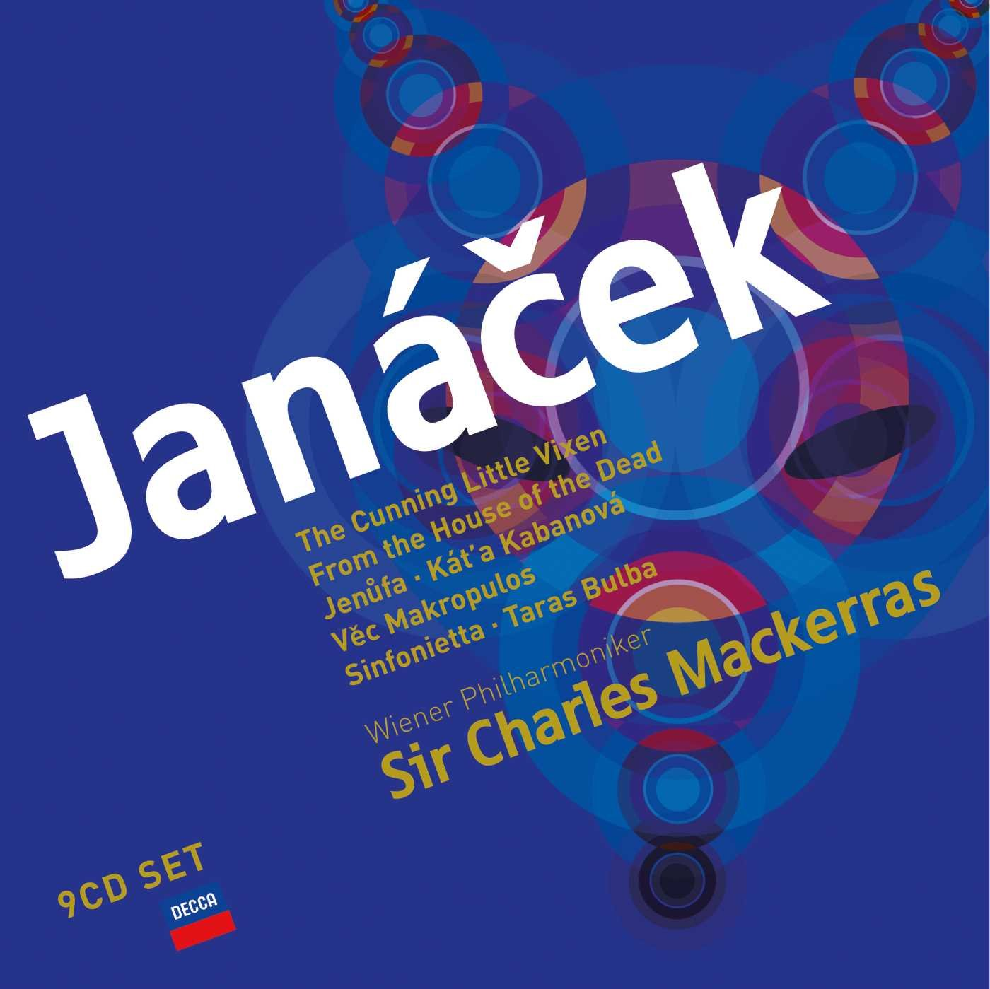 Sir Charles Mackerras. Janacek: Operas (10 CD) цена