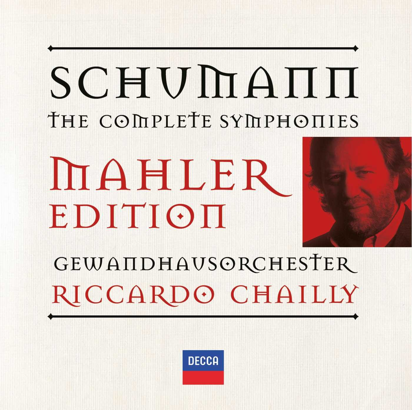Riccardo Chailly. Schumann: The Symphonies (2 CD) бра copia e 2 1 2 c