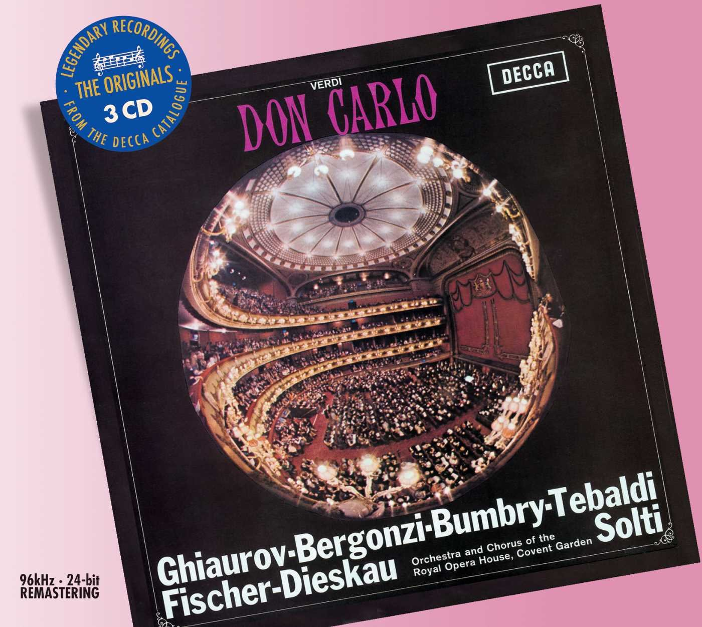 цены на Sir Georg Solti. Verdi: Don Carlo (3 CD)