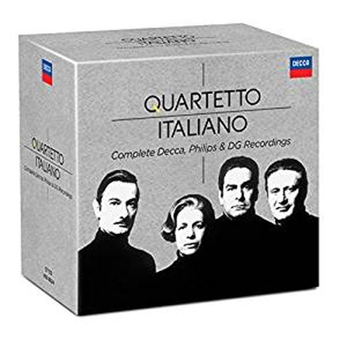 Quartetto Italiano. Complete Philips & Decca Recordings (37 CD) free shipping original 10 1 inch lcd screen original cable number 73002001242c model ahly101ml286 27a