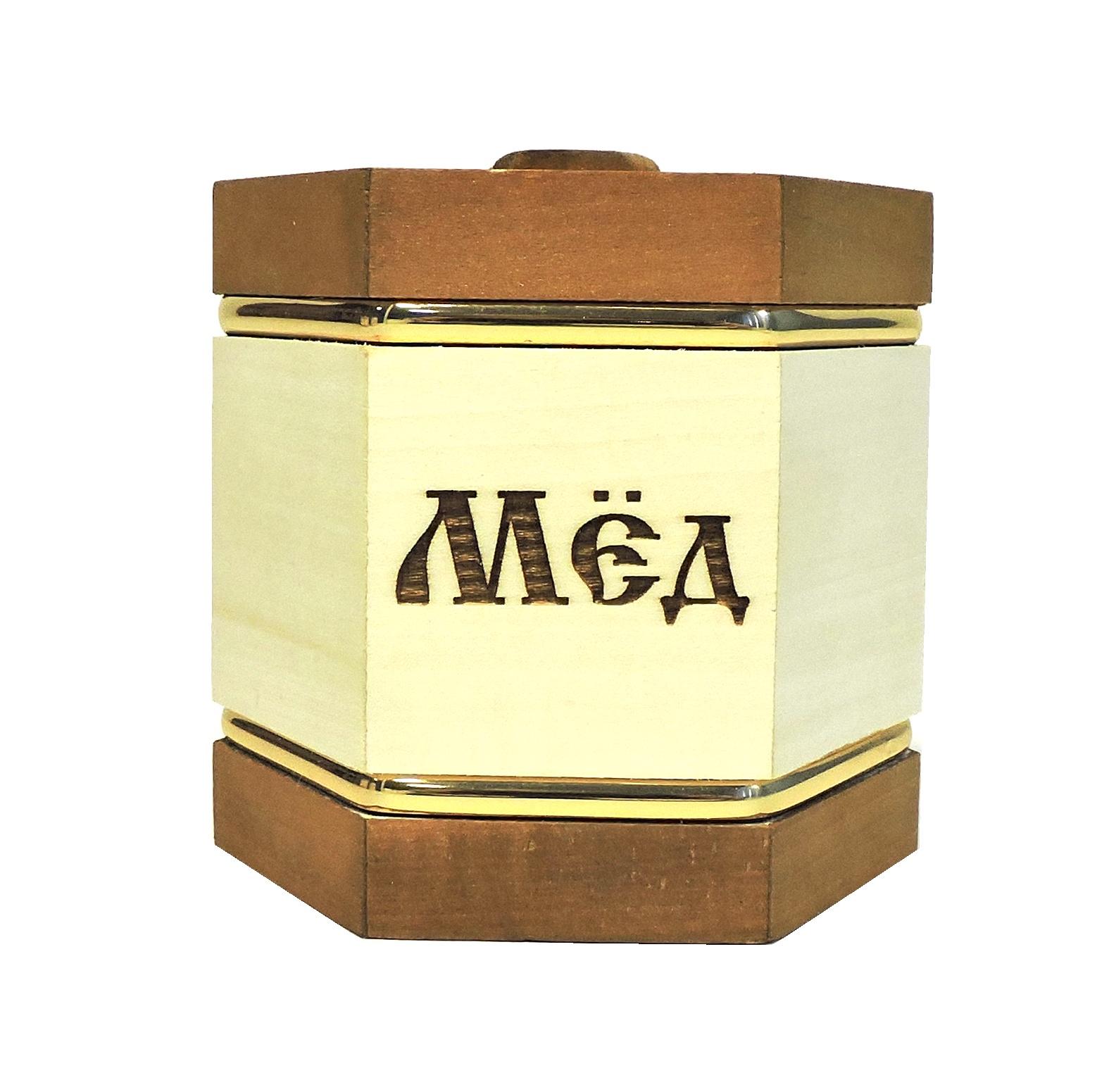 Банка для меда Taowa Емкости неполимерные, кремовый, коричневый цены