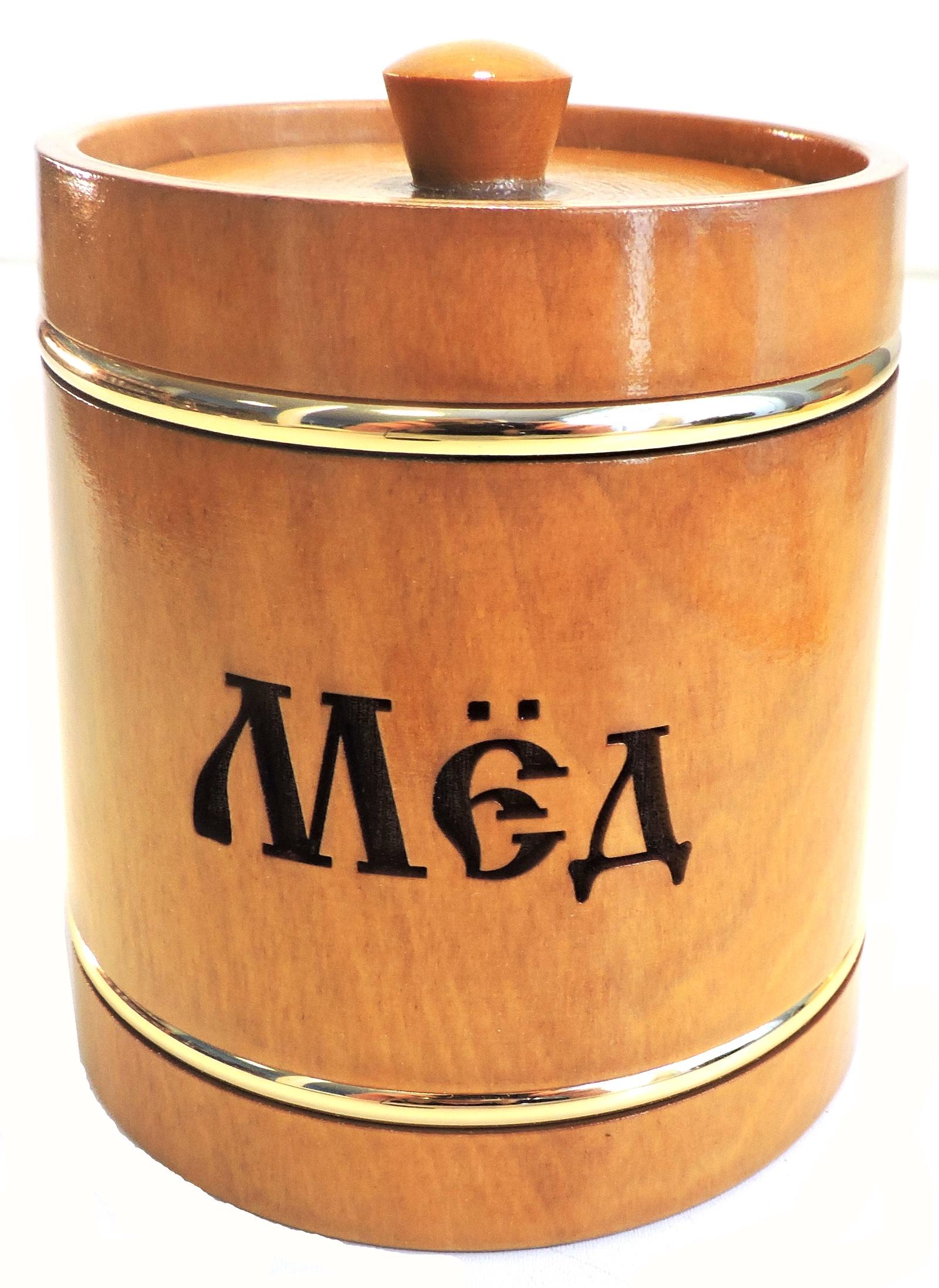 Банка для меда Taowa Емкости неполимерные, коричневый цены