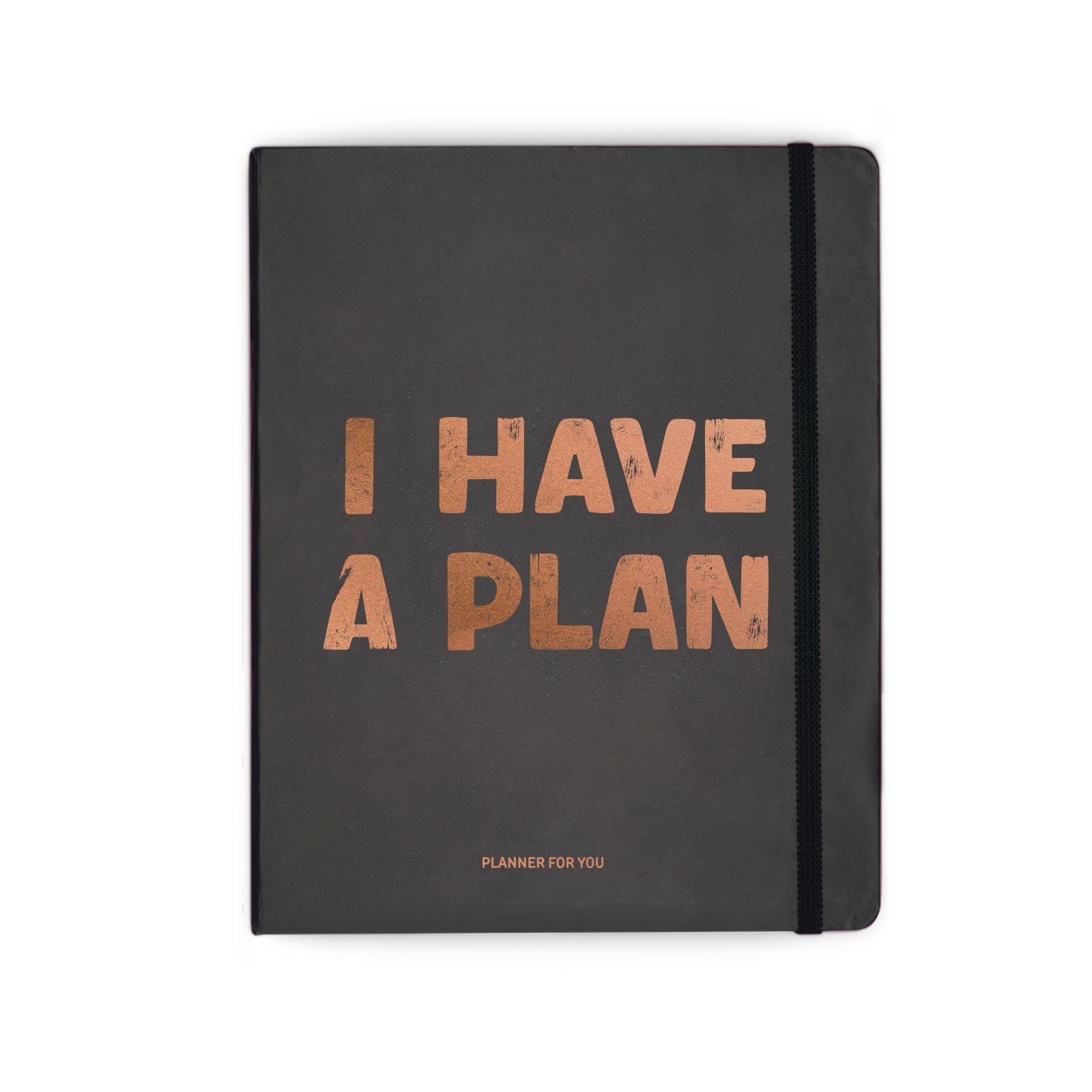 Планнер Orner I HAVE A PLAN BLACK, 128