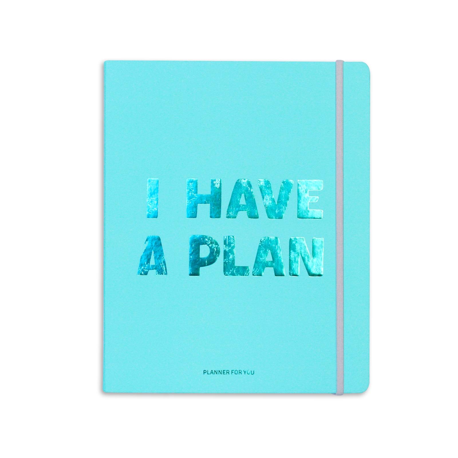 Планнер Orner I HAVE A PLAN BLUE, 128
