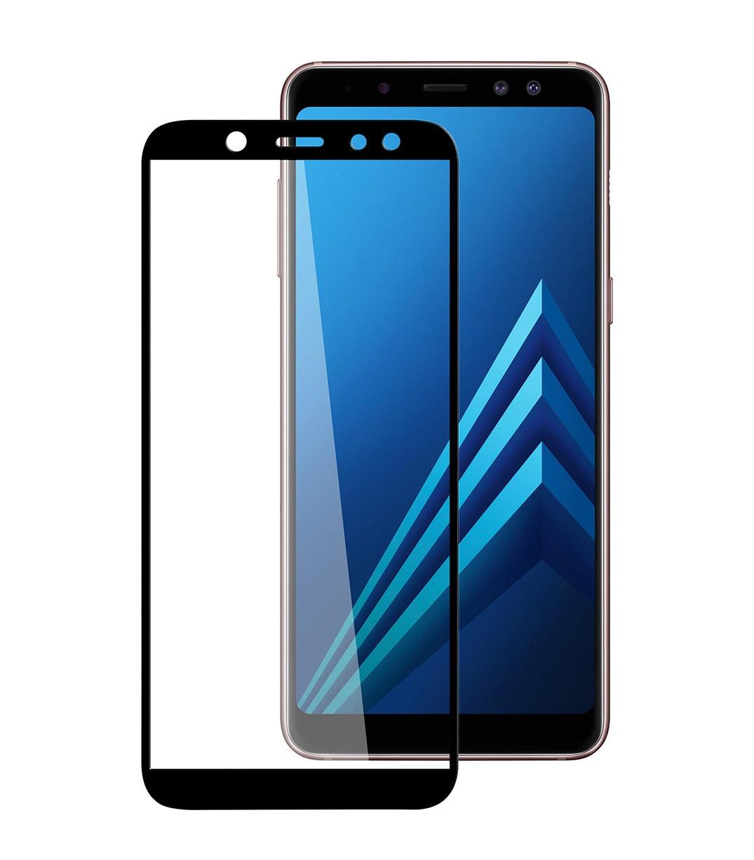 Защитное стекло 5D для Samsung Galaxy A6 (2018) аксессуар защитное стекло samsung galaxy s8 gecko 5d 0 26mm gold zs26 gsgs8 5d gold
