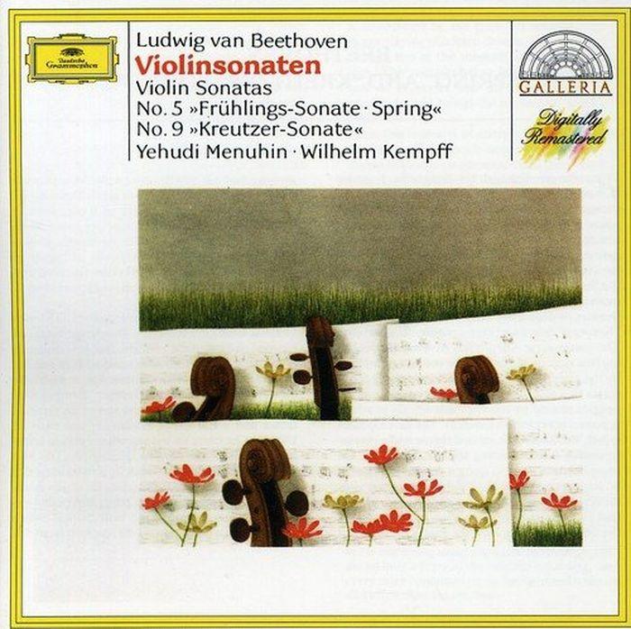 Yehudi Menuhin. Beethoven: Violin Sonatas Nos.5 & 9 f kiel piano trio no 5 op 34