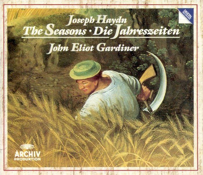 John Eliot Gardiner. Haydn: The Seasons (2 CD) no