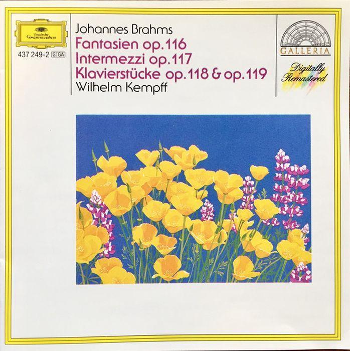 Wilhelm Kempff. Brahms: 7 Fantasien; 3 Intermezzi; Piano Pieces a rubinstein antonius and cleopatre op 116