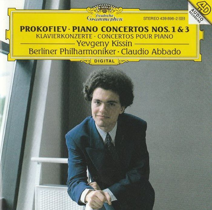 Yevgeny Kissin. Prokofiev: Piano Concertos Nos.1 & 3 j b bréval cello sonata in c major op 40 no 1