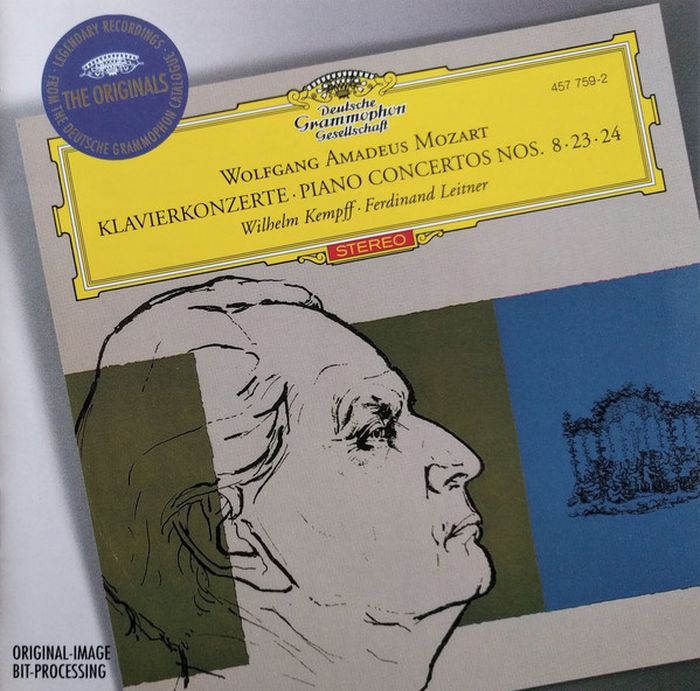 Wilhelm Kempff. Mozart: Piano Concertos Nos.8, 23 & 24 цена и фото