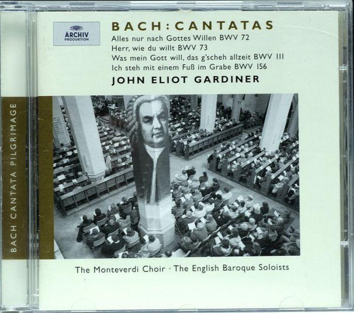 John Eliot Gardiner. Bach: Cantatas BWV 72; 73; 111; 156 j g ebeling frohlich soll mein herze springen