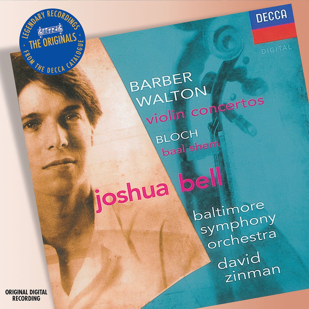 David Zinman. Barber/ Walton: Violin Concertos s jadassohn cavatina for violin and orchestra op 69