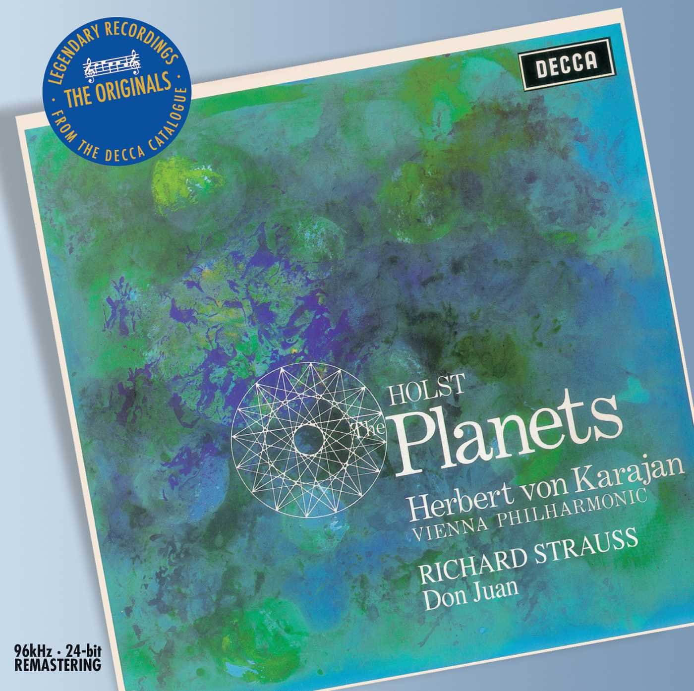 Herbert von Karajan. Holst: The Planets; Strauss: Don Juan galaxy planets print waterproof bath shower curtain