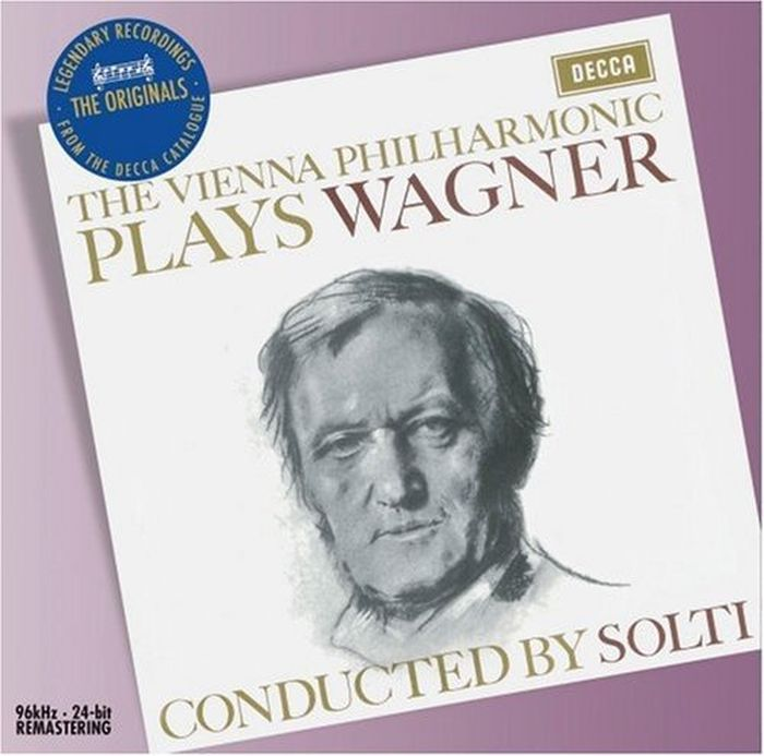 Sir Georg Solti. Wagner: Overtures richard wagner siegfried idyll