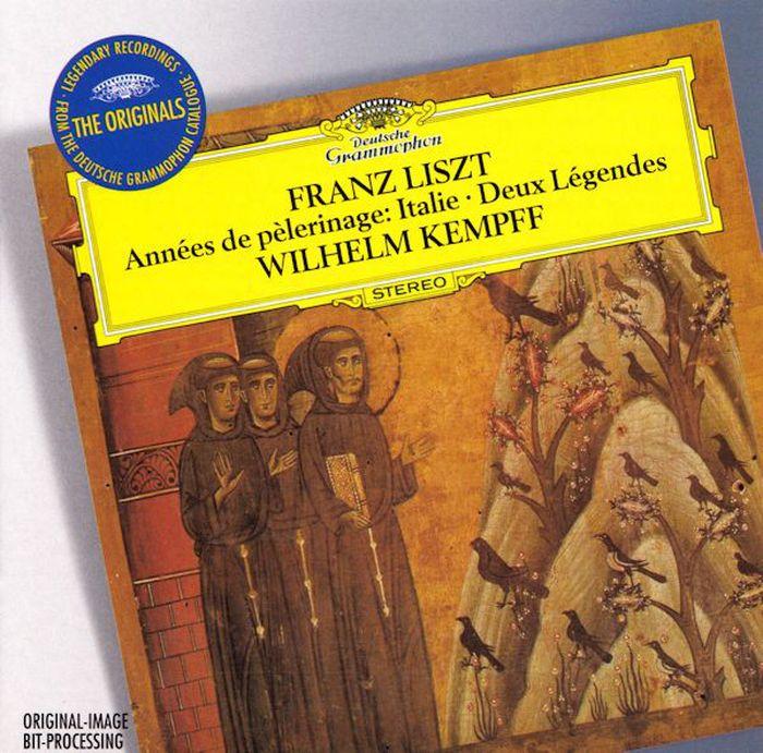 Wilhelm Kempff. Liszt: Annees De Pelerinage (Excerpts) victor de jouy l hermite en italie t 2