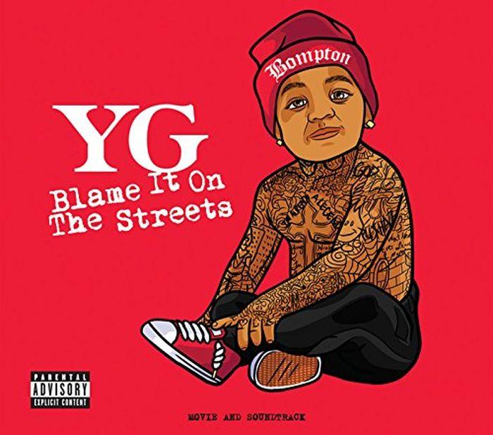 YG. Blame It On The Streets (CD + DVD) dj lbr mc shurakano dj lbr feat mc shurakano u got it maxi single lp