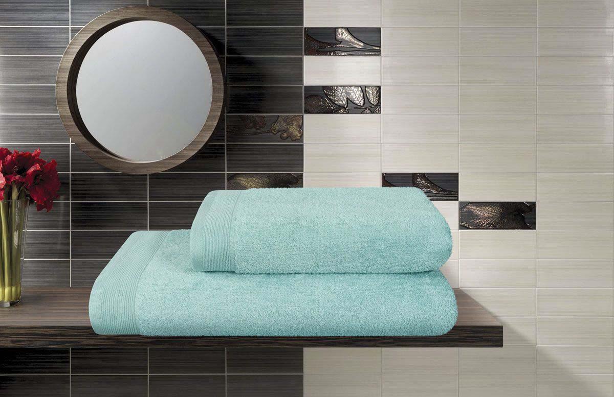 Полотенце банное Guten Morgen Premium Керби, ПМакв-70-140, голубой, 70 х 140 см полотенце махровое guten morgen гладкокрашенное пммок 70 140 мокко 70 х 140 см