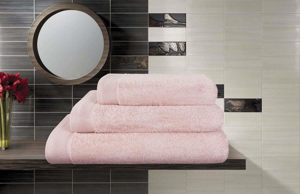 Полотенце банное Guten Morgen Premium, ПМлав-100-150, светло-розовый, 100 х 150 см Guten Morgen /Гутен Морген