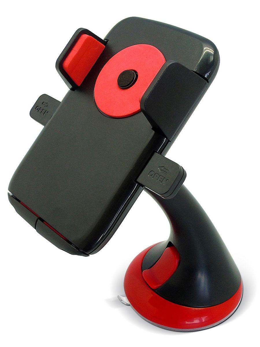 Автомобильный держатель GFR F-1604C для телефона на жесткой штанге, черный автомобильный держатель gfr f 1604c для телефона на жесткой штанге черный