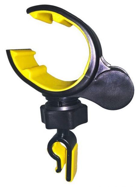Автомобильный держатель GFR F-1607C для телефона в дефлектор, черный
