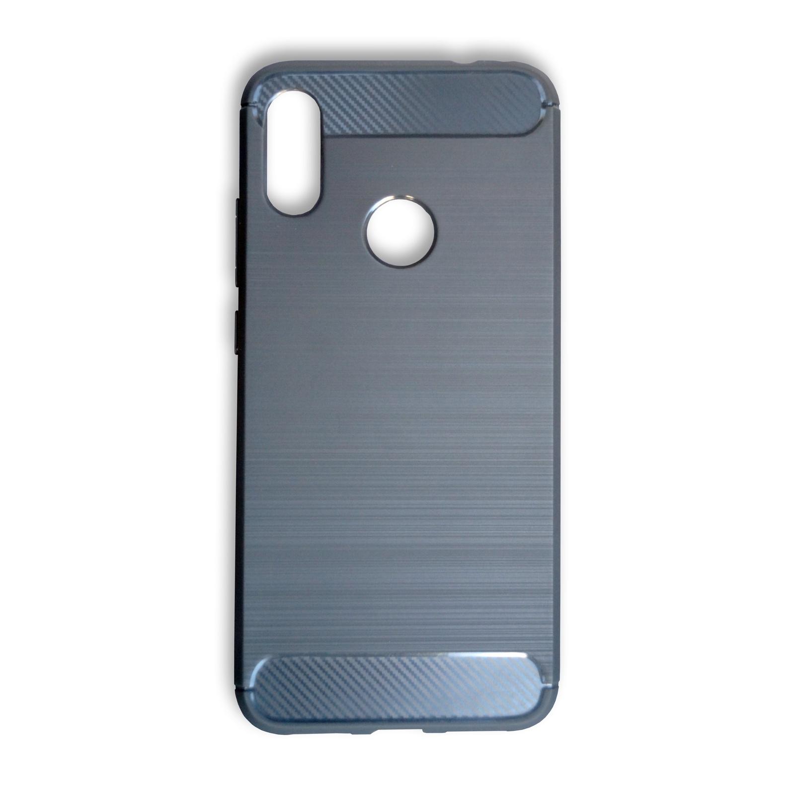 Чехол для сотового телефона Противоударный полиуретановый чехол для Xiaomi Redmi Note 7, серый