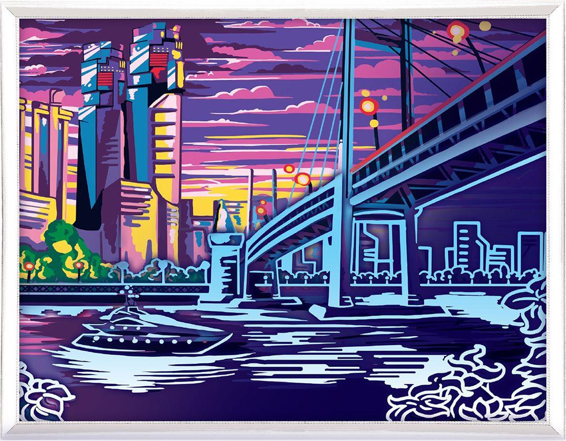 Картина по номерам Арт Узор Город, 3716895, 30 х 40 см