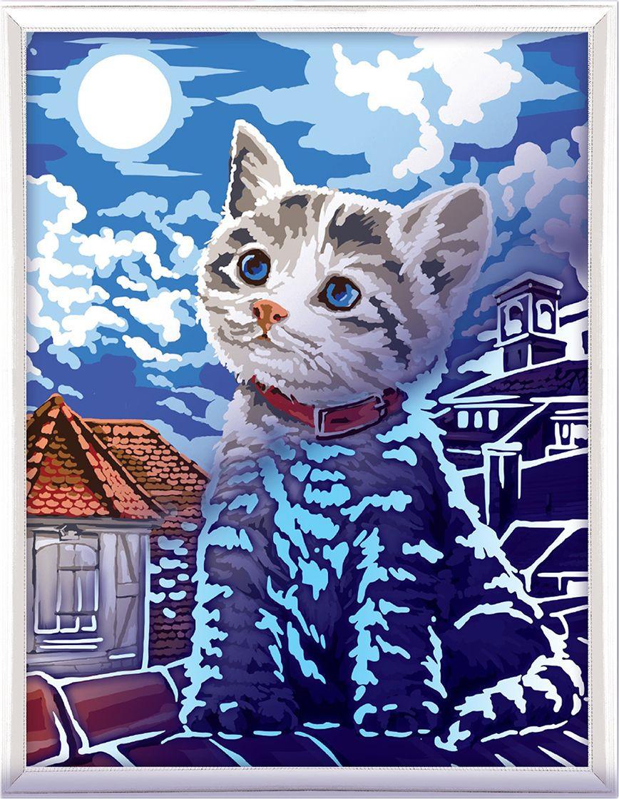 Картина по номерам Арт Узор Котенок, 3716899, 30 х 40 см