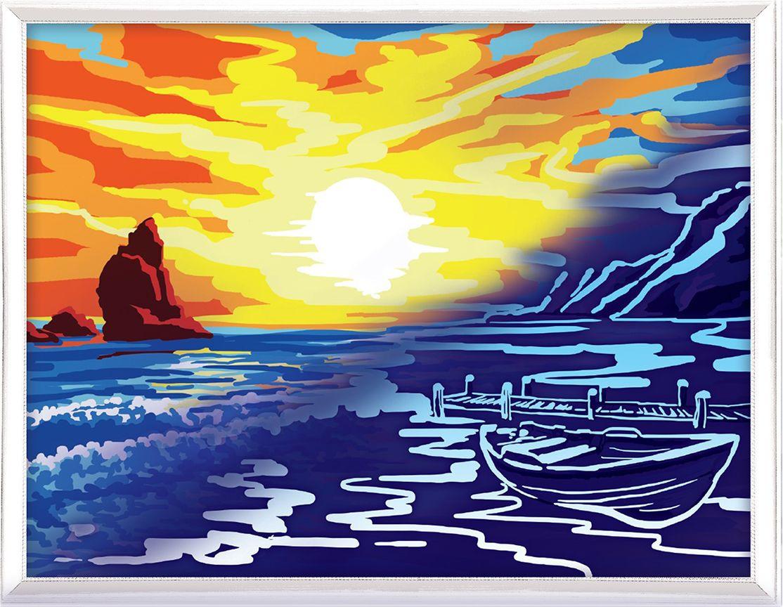 Картина по номерам Арт Узор Море, 3716901, 30 х 40 см