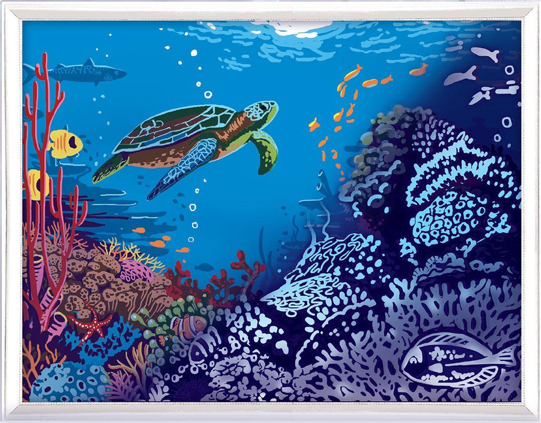 Картина по номерам Арт Узор Под водой, 3716903, 30 х 40 см