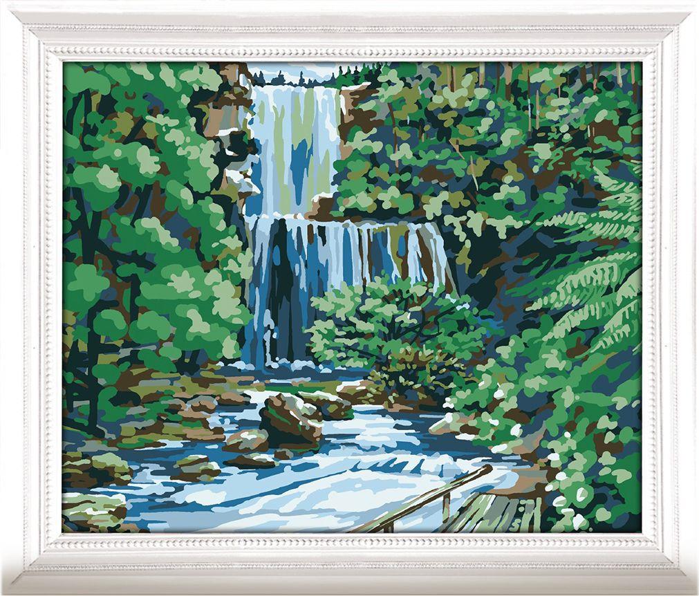 Картина по номерам Арт Узор Водопад, 3716907, 30 х 40 см