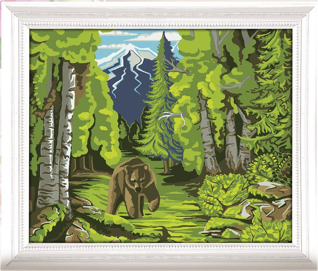 Картина по номерам Арт Узор В лесу, 3716913, 30 х 40 см