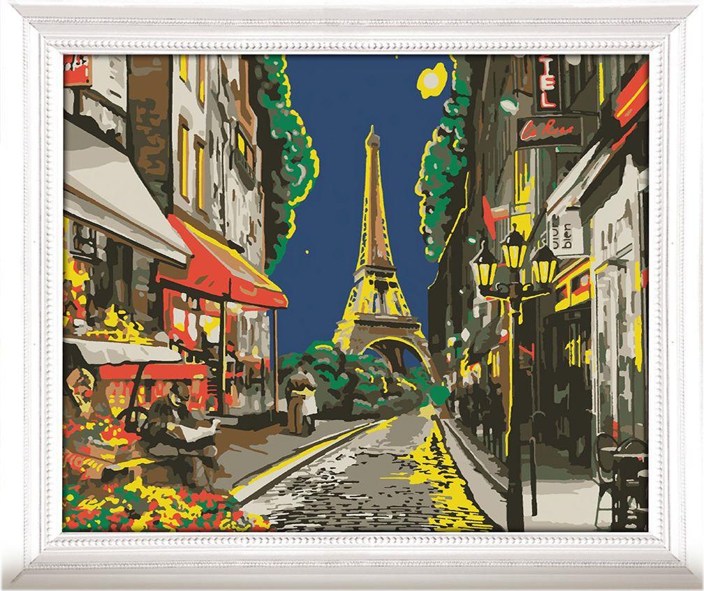 Картина по номерам Арт Узор Улочка в Париже, 3716916, 30 х 40 см