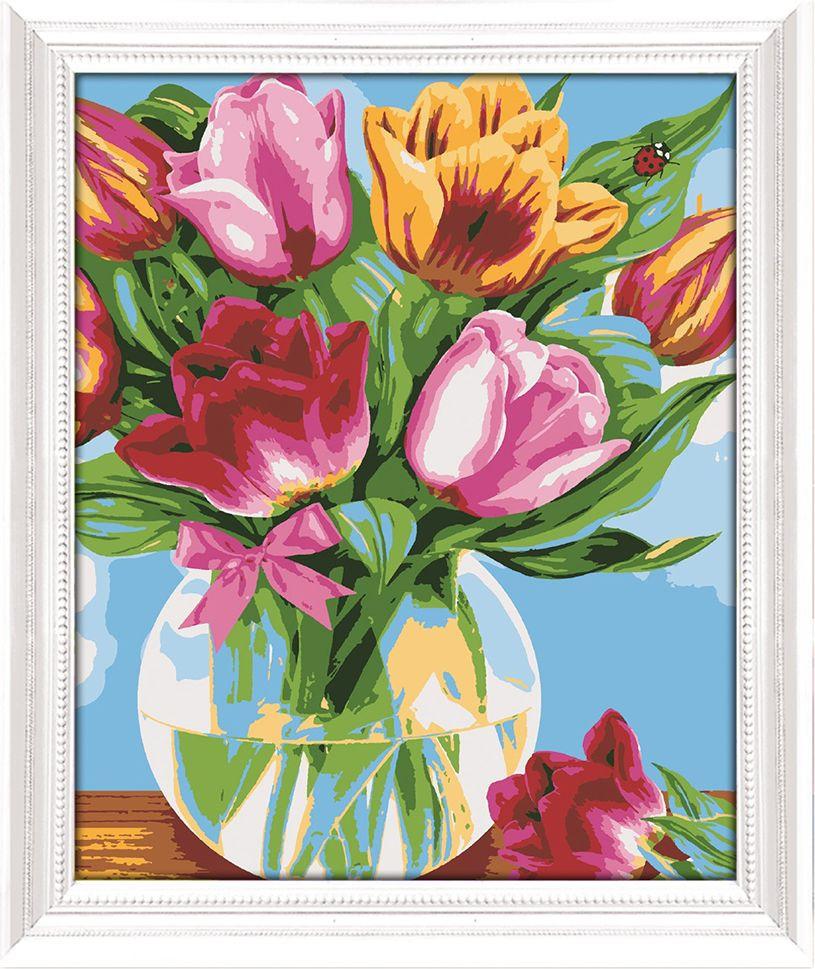 Картина по номерам Арт Узор Тюльпаны, 3716923, 30 х 40 см