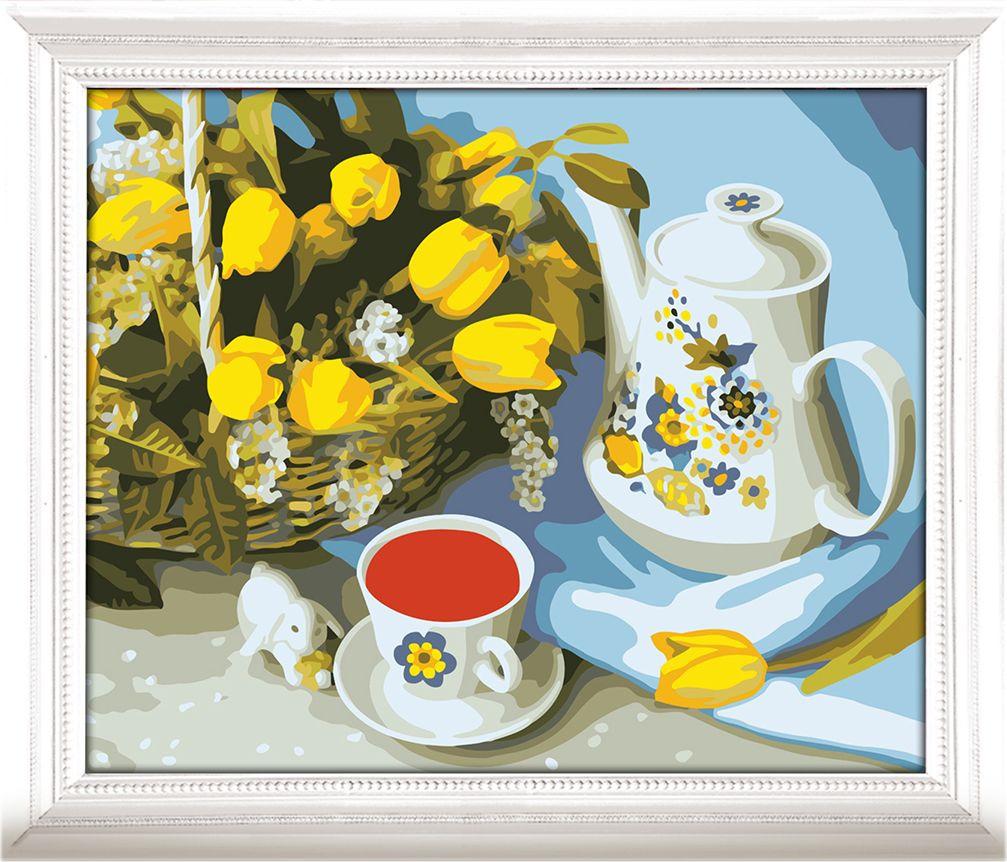 Картина по номерам Арт Узор Чайный натюрморт, 3857442, 40 х 50 см