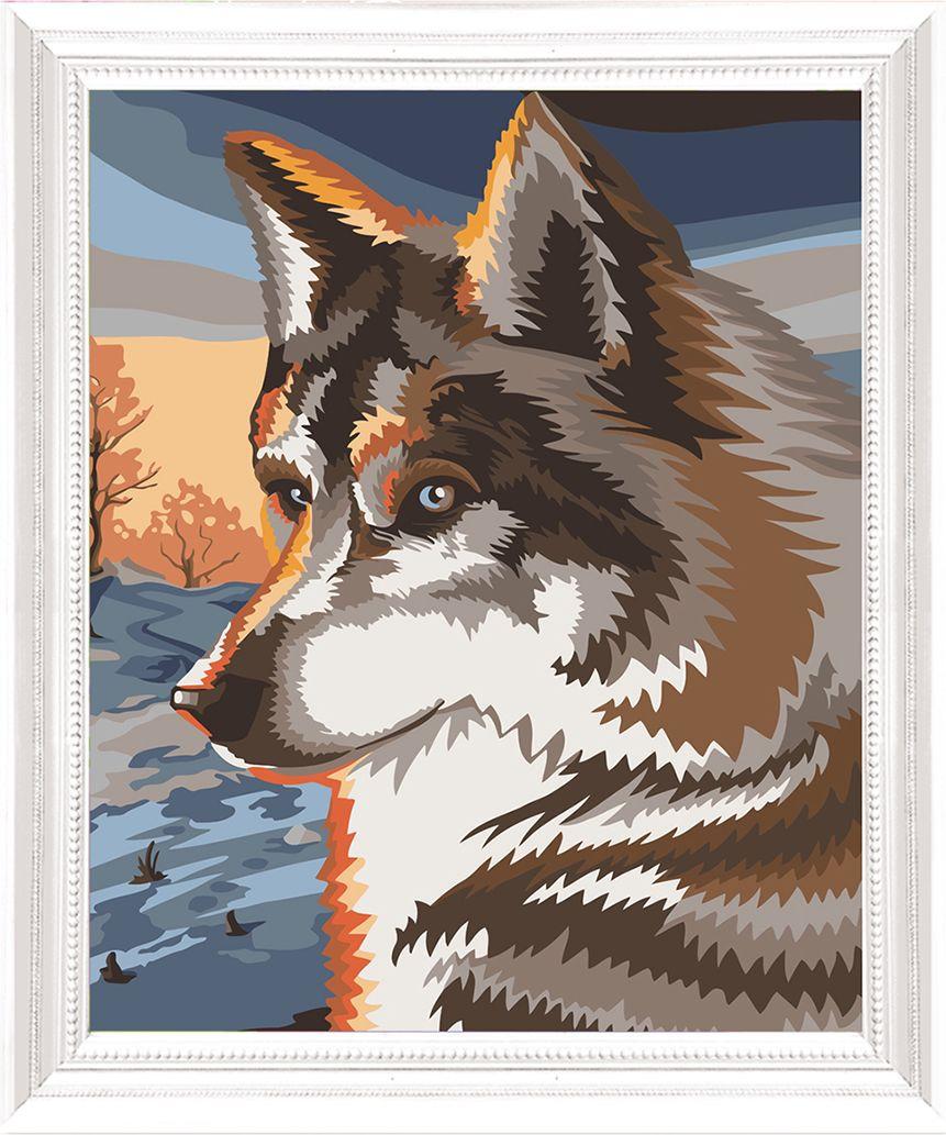 Картина по номерам Арт Узор Волк, 3857446, 40 х 50 см