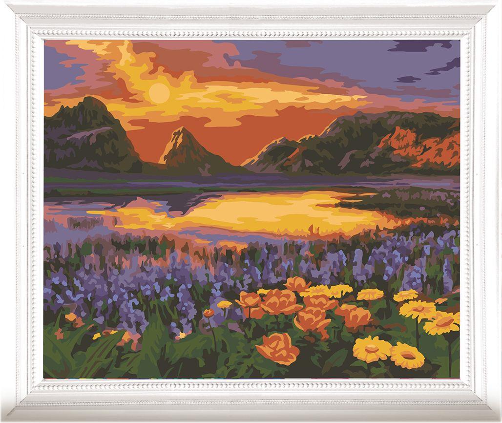 Картина по номерам Арт Узор Горное озеро, 3857447, 40 х 50 см