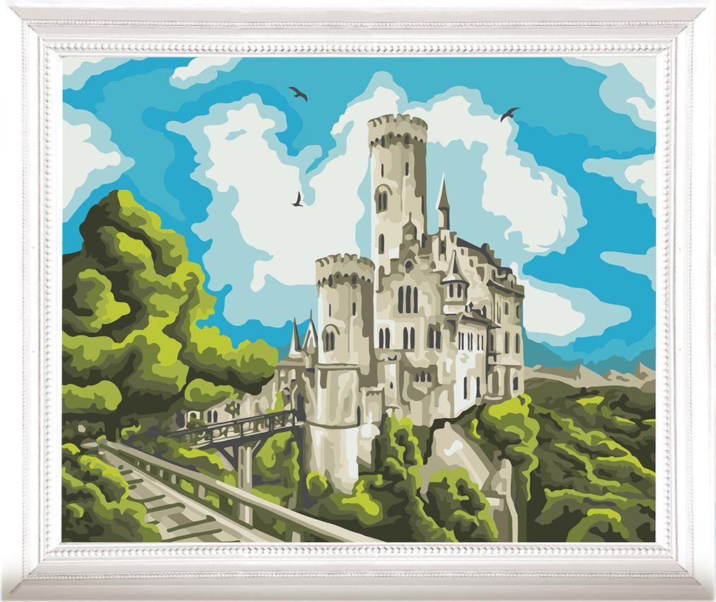 Картина по номерам Арт Узор Замок на горе, 3857449, 40 х 50 см