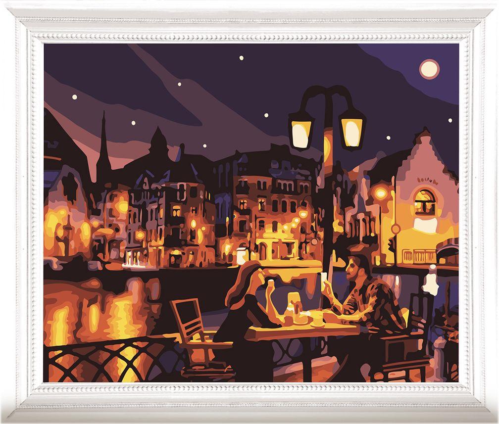 Картина по номерам Арт Узор Вечер у озера, 3857450, 40 х 50 см академический симфонический оркестр филармонии д лисс