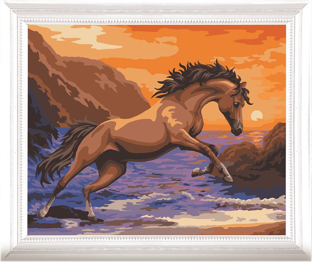 Картина по номерам Арт Узор Конь, 3857451, 40 х 50 см