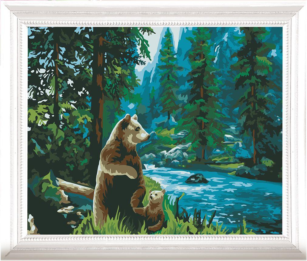 Картина по номерам Арт Узор Медведи в чаще, 3857455, 40 х 50 см