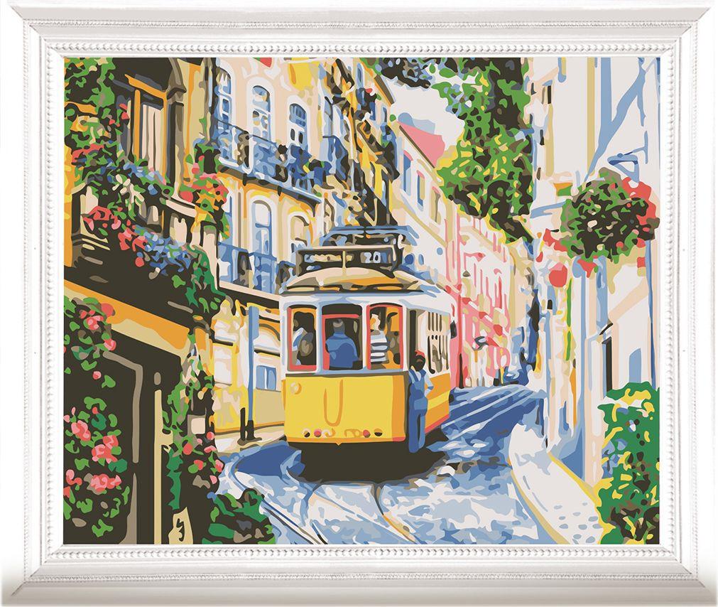 Картина по номерам Арт Узор Уличный трамвай, 3857460, 40 х 50 см михалков с в шел трамвай десятый номер