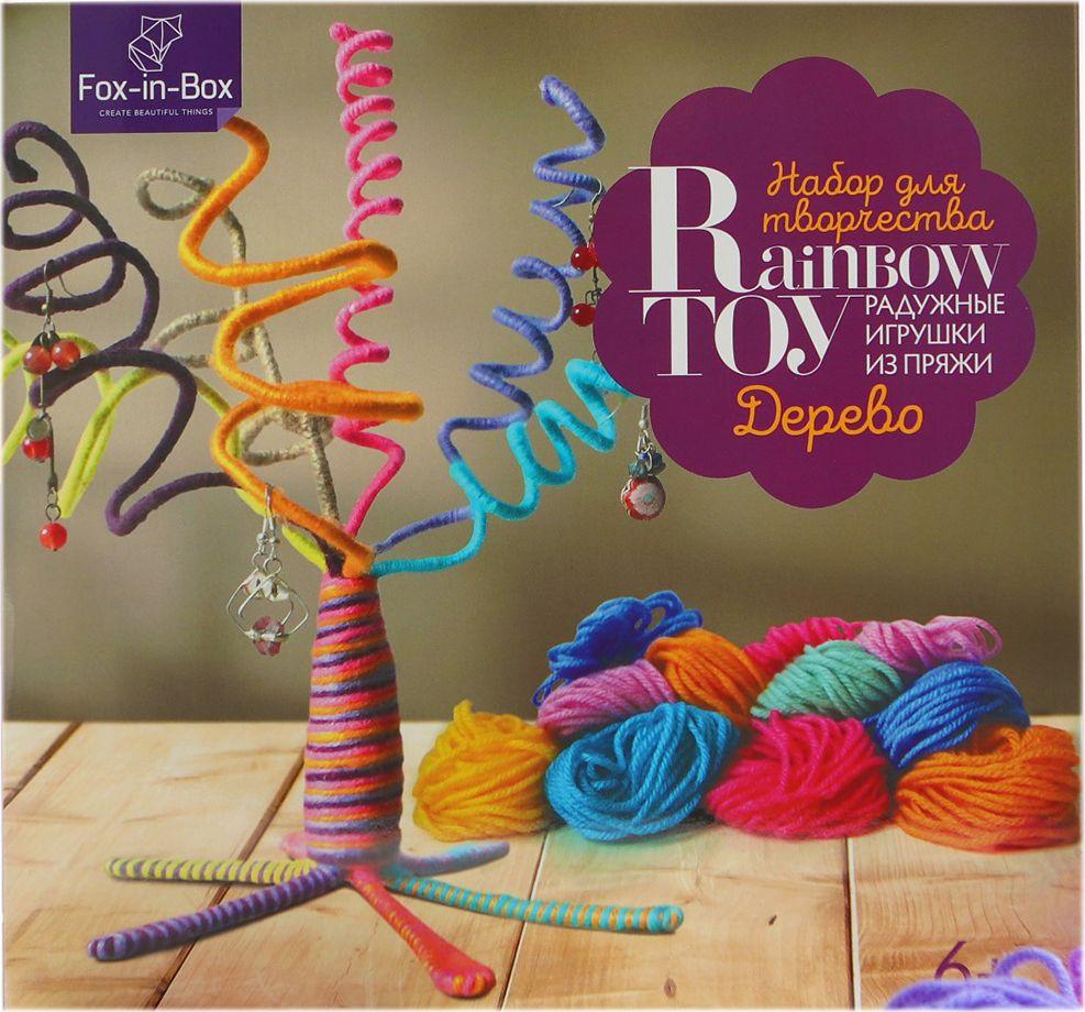 Набор для изготовления игрушки Hobby&You Дерево, 4050545, 22 х 20 см krooom игрушки из картона 3d набор сказочное дерево k 327