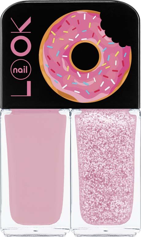 Лак для ногтей Nail Look Trends Donut Bar, Merry Berry, 2 х 3 мл
