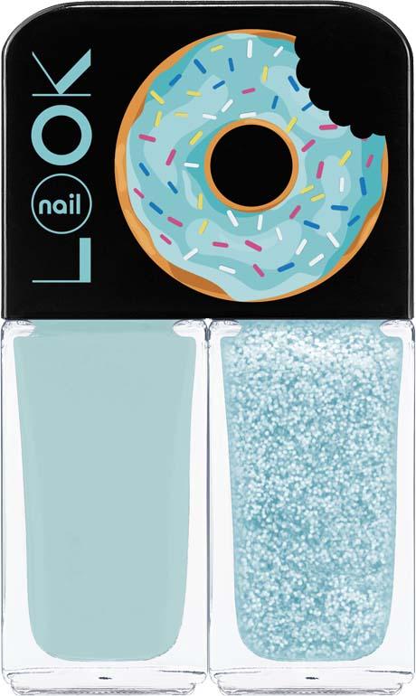 Лак для ногтей Nail Look Trends Donut Bar, Mint Tiramisu, 2 х 3 мл