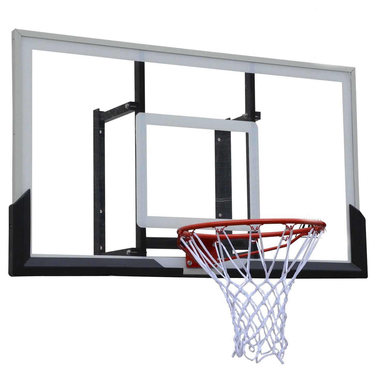 Баскетбольный щит DFC 54 BOARD54A, черно-серый баск щит dfc board32 80x58cm полиэтилен прозрачный